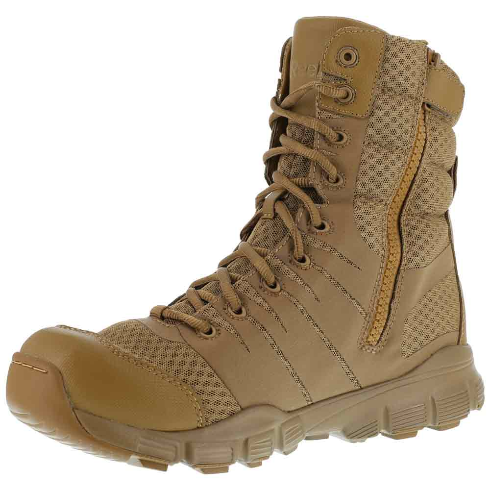 timeless design 609ad 5fba0 Reebok Dauntless Ultra-Light 8-Inch Coyote Boot RB8721