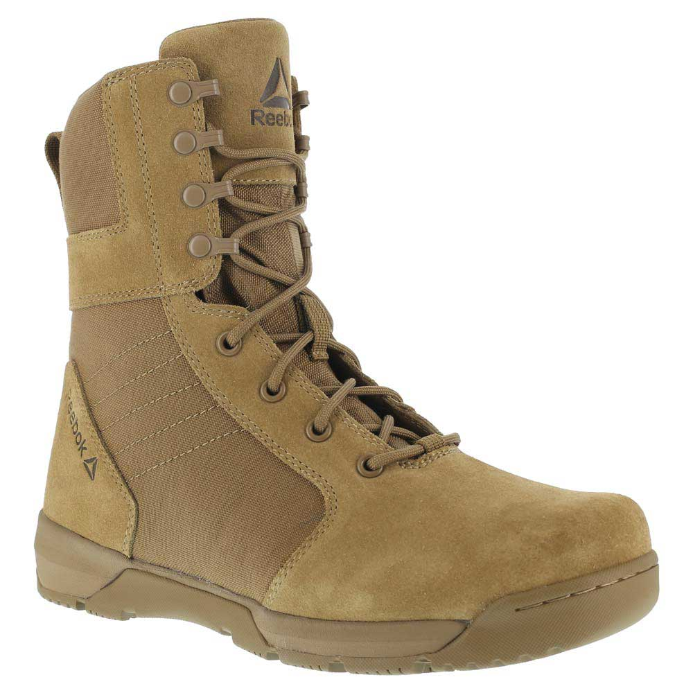 Reebok Strikepoint 8 Inch Soft Toe Coyote Boot Rb8840