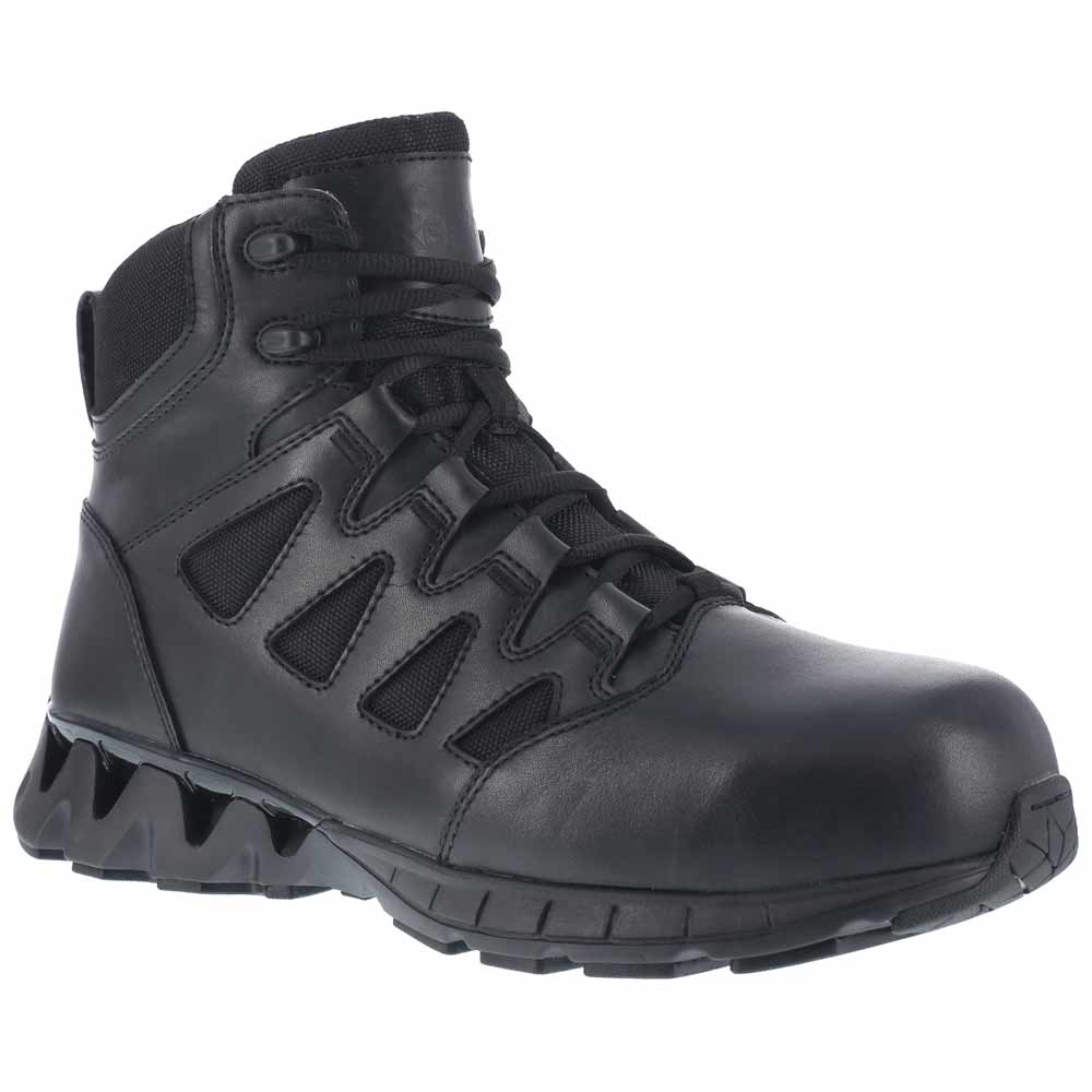 Reebok Zigkick Women S Black 6 Inch Ct Zip Tactical Boot
