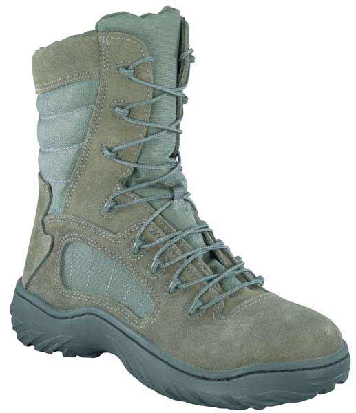 Reebok Fusion Max Steel Toe Sage Green Military Boots Cm9998