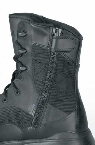633d43874c4e2a Reebok Dauntless Black Seamless Soft Toe Side Zip Boot - RB8827