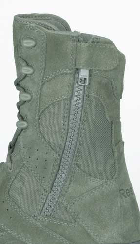 6a614f8fcc26 Reebok Dauntless Sage Green Composite Toe Side Zip Boot - RB8835
