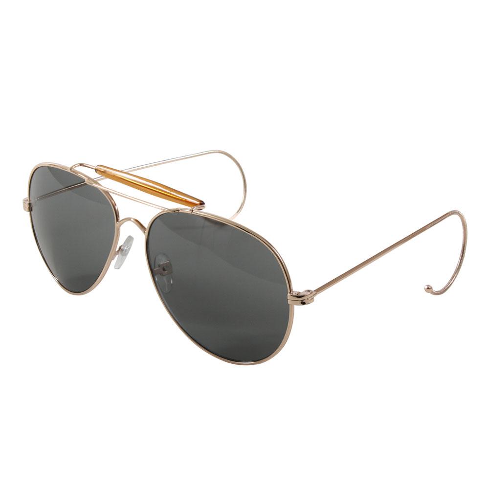 Aviator Sunglasses - Wrap around type Air Force Pilot Sunglasses by Flying  Sun afa9c0c8ad9