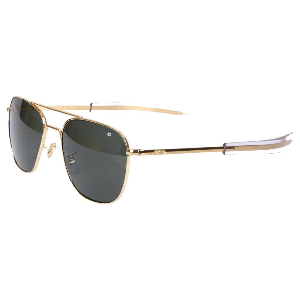 e320ed14e64 AO Original 55mm Impact Resistant Aviator Sunglasses