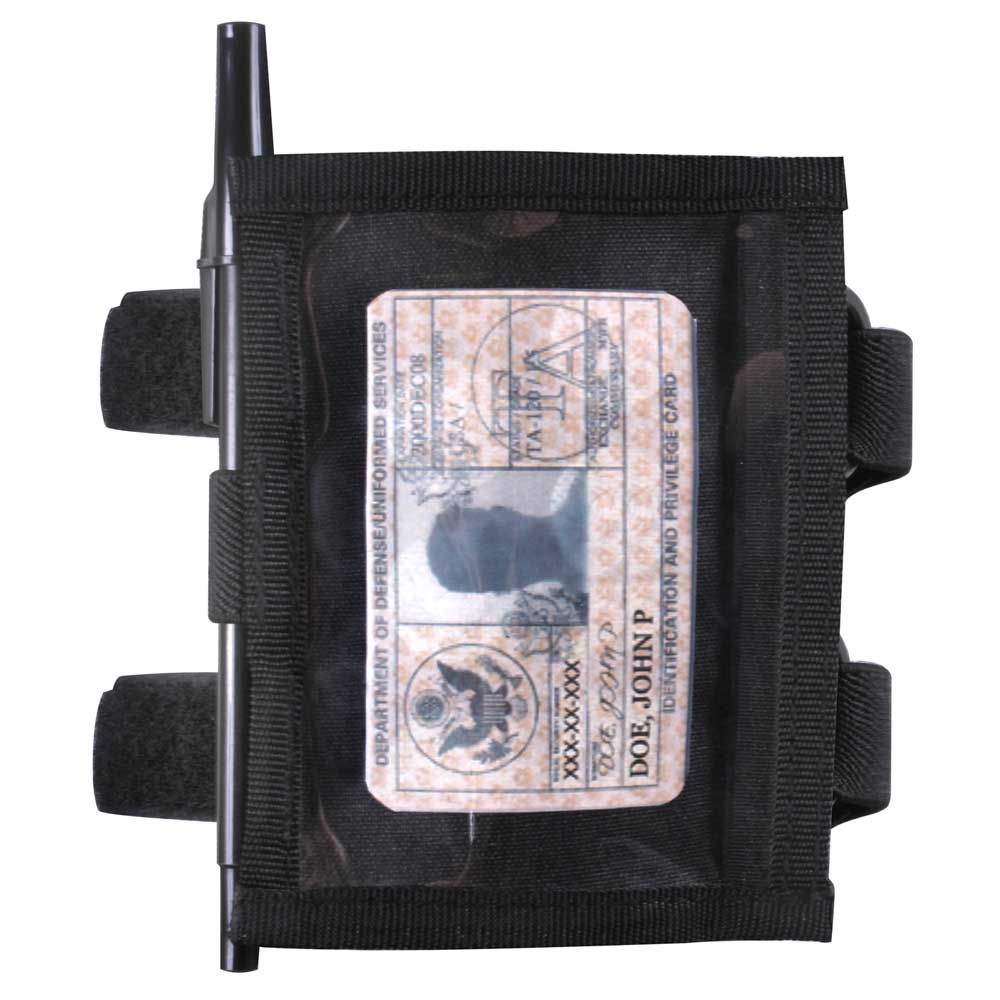 Military Style Armband Id Badge Holder