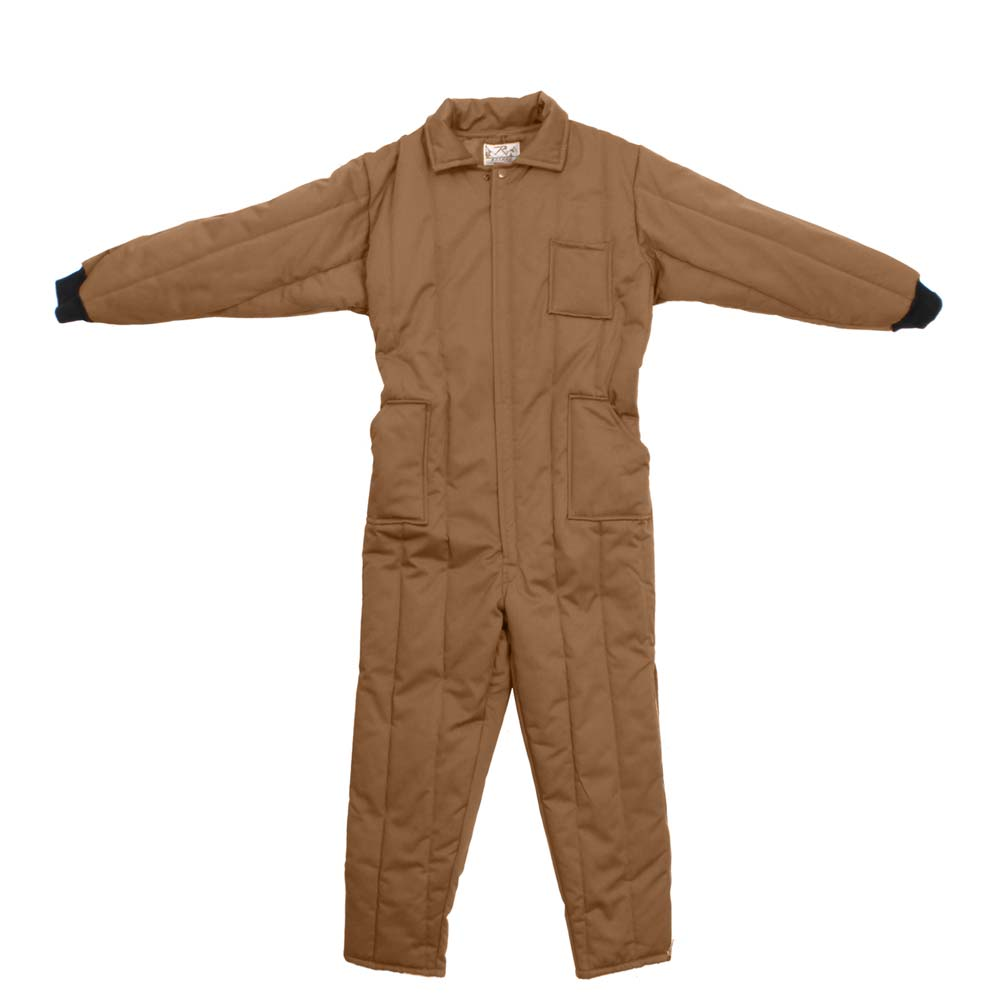 Rothco Coyote Insulated Cold Weather Work Coveralls