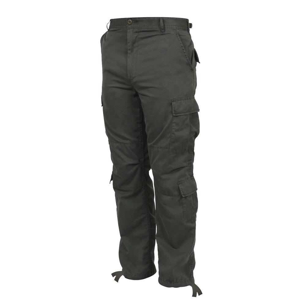 Vintage Olive Drab Military Cargo Pants Vintage Army Pants