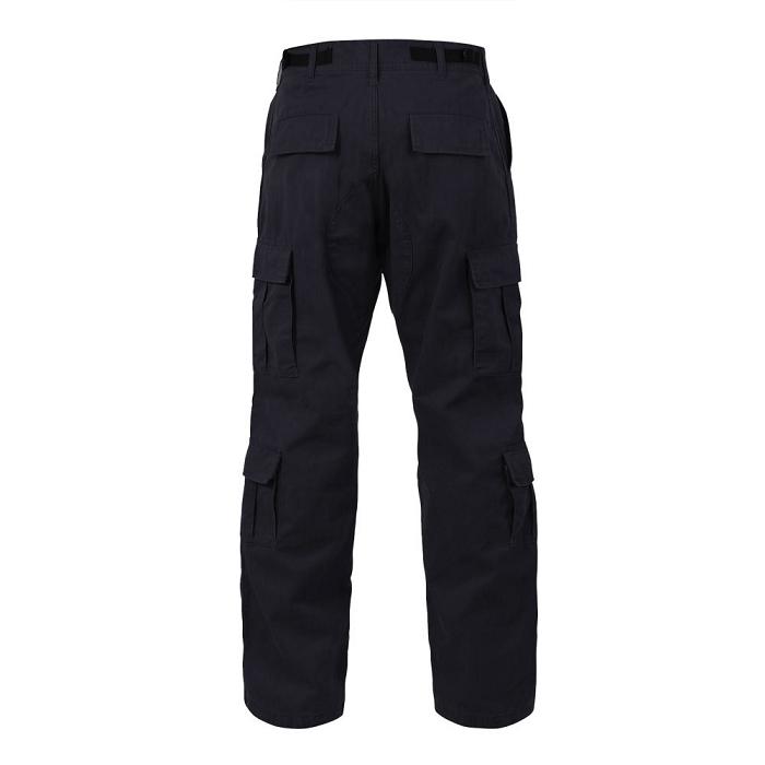 Vintage Black Military Cargo Pants 777cd73b527