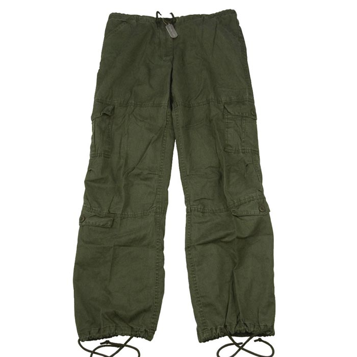 Vintage Paratrooper Olive Drab Ladies Cargo Pants - Military Fashion Womens  Pants 23434a9635d