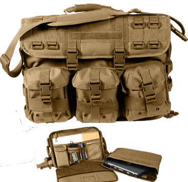 Molle Coyote Tactical Briefcase Military Shoulder Bag