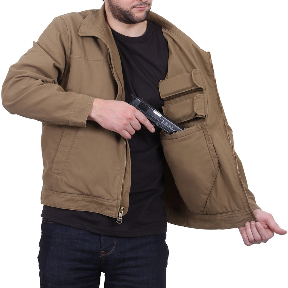 Forced Entry Coyote Lightweight Ccw Jacket