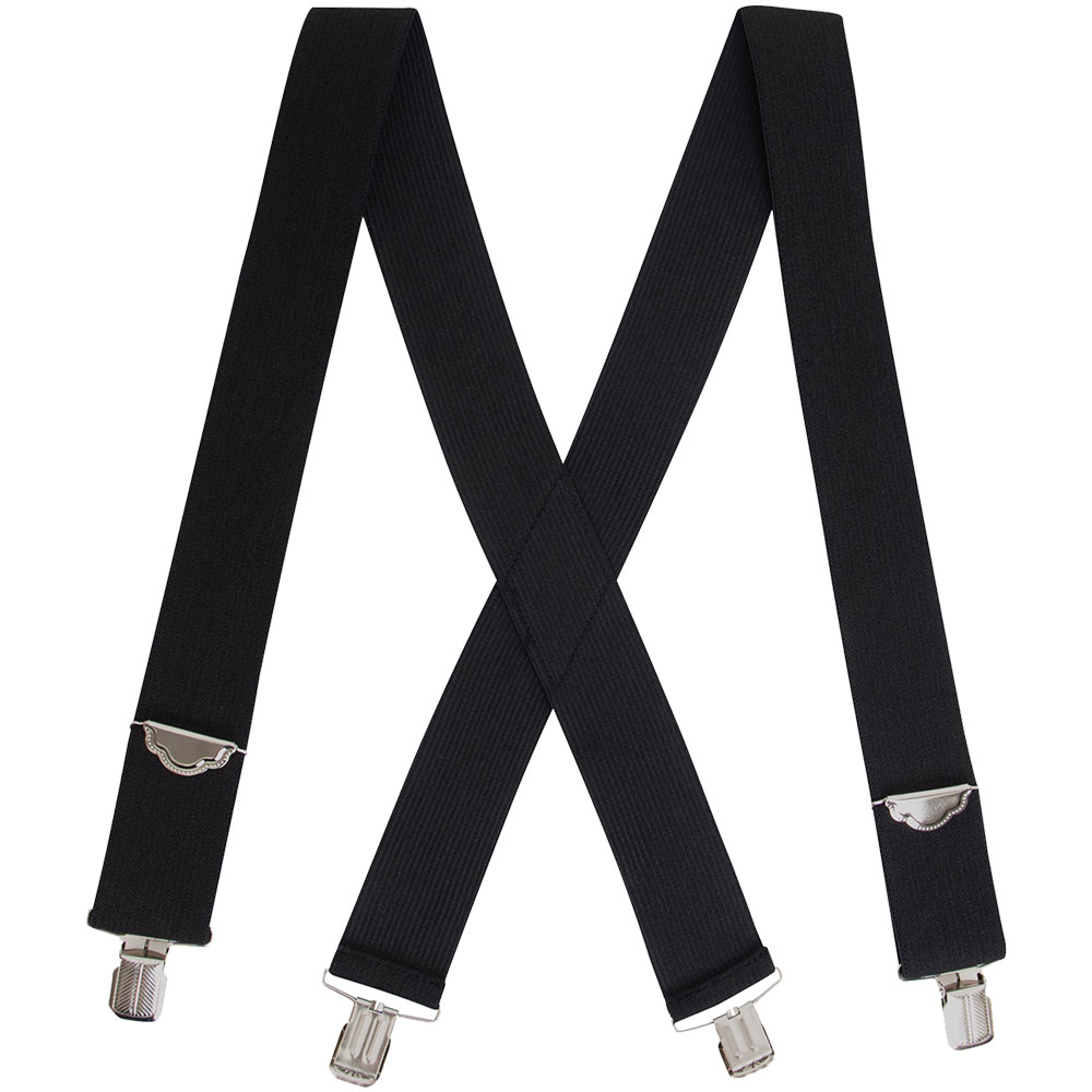 Elastic Products 4402-76B Clip-On X-Back Suspender Pink 18463