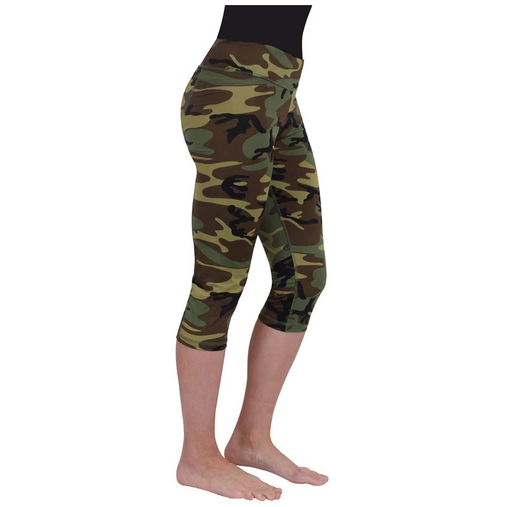 a142e09877ee8d Women's Camouflage Capri Workout Leggings