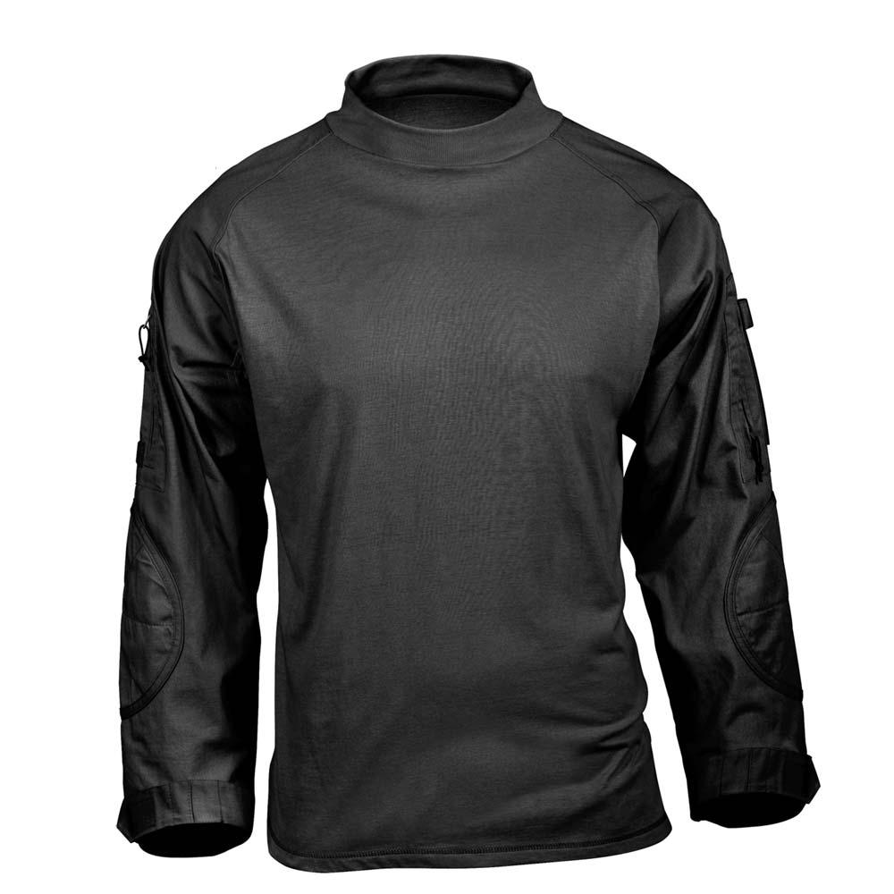 Black Tactical Airsoft Combat Shirt