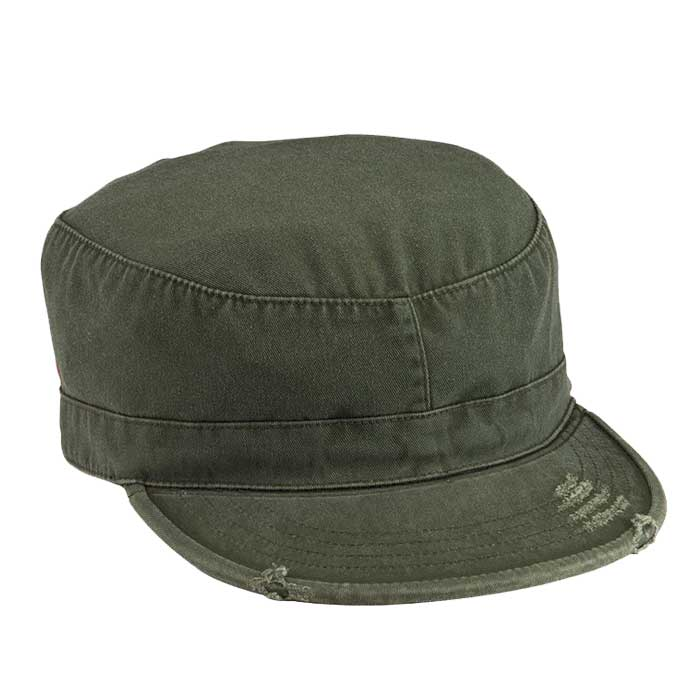 Olive Drab Vintage Patrol Cap  ed29067ebb9