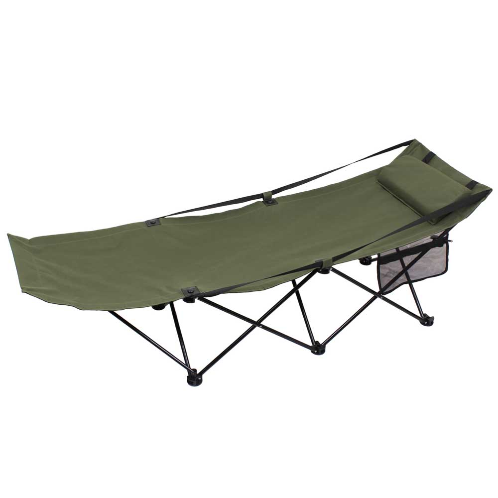 Basic Issue Deluxe Folding Camping Cot