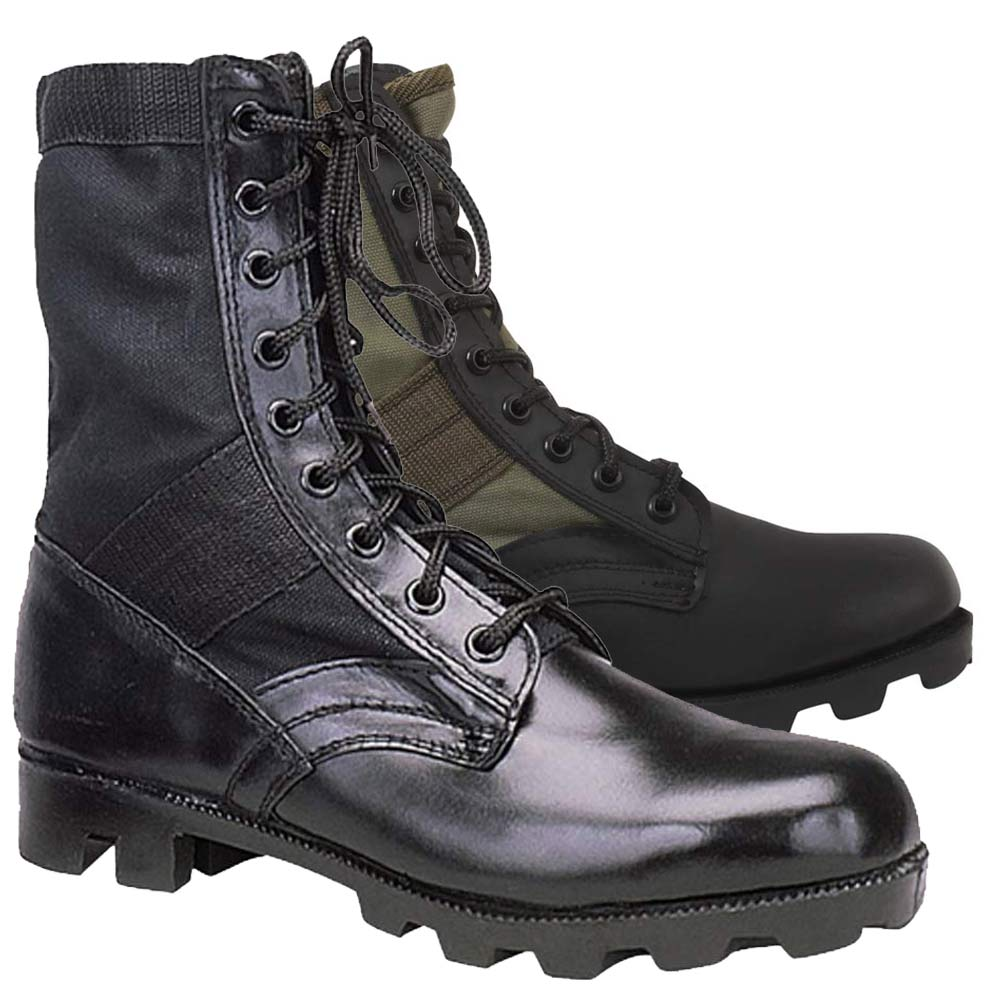 black olive military jungle boots. Black Bedroom Furniture Sets. Home Design Ideas