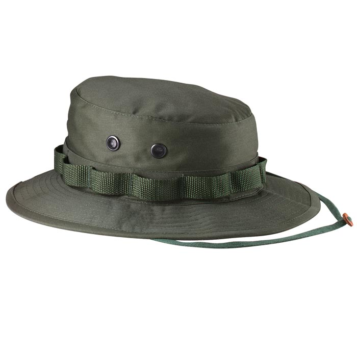 dad6abfd5dff9 Heavy Duty Twill Military Boonie Hat
