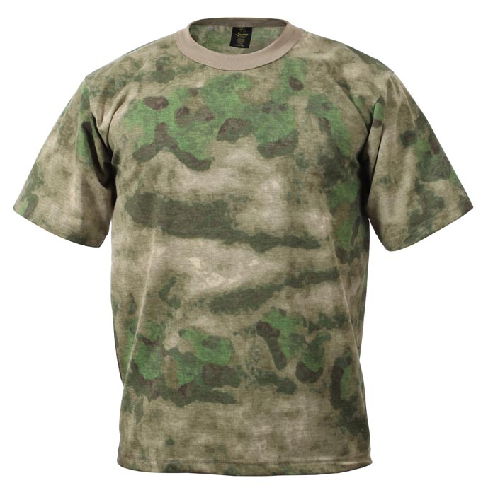 A Tacs Fg Camouflage T Shirt Made In Usa