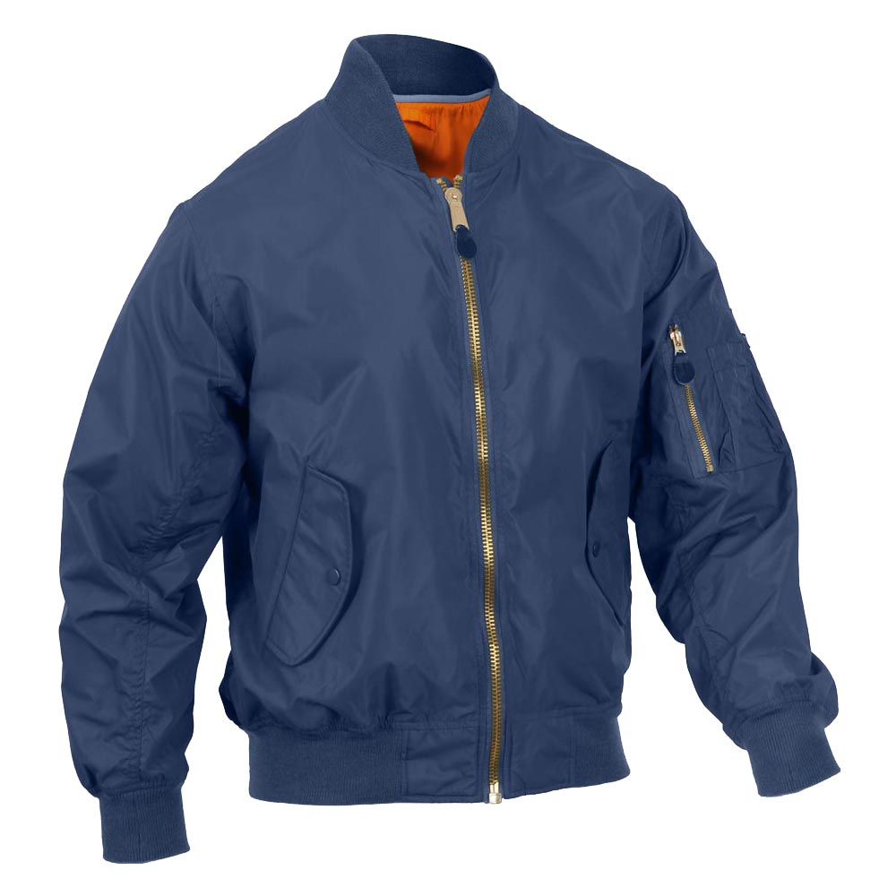 Details about  /NAVY MA-1 Bomber Military Style Jacket Flight Jacket NORTHERN EXPLOSURE BRAND