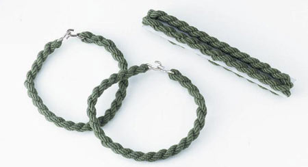 Foliage Green Military Garter Military Boot Bands