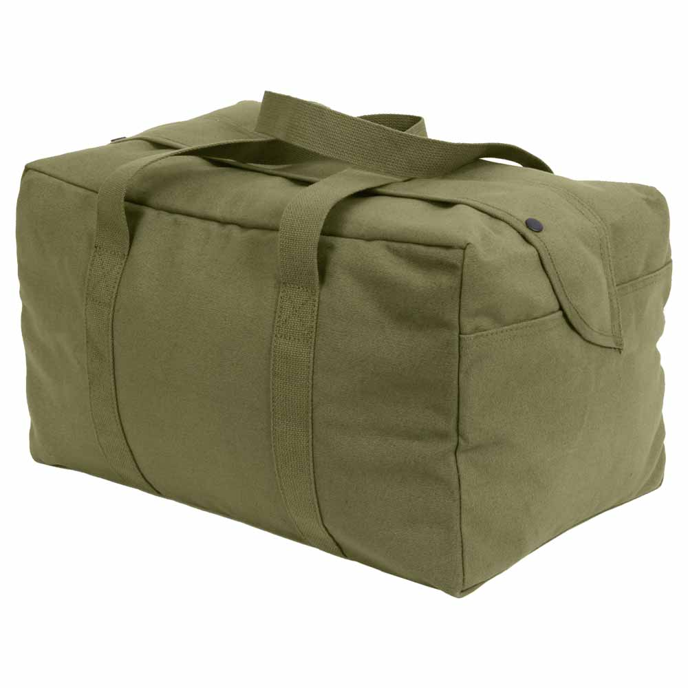 Basic Issue Olive Drab Small Canvas Carry On Cargo Bag