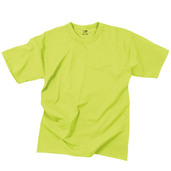 Safety Green High Visibility T Shirt High Visability T