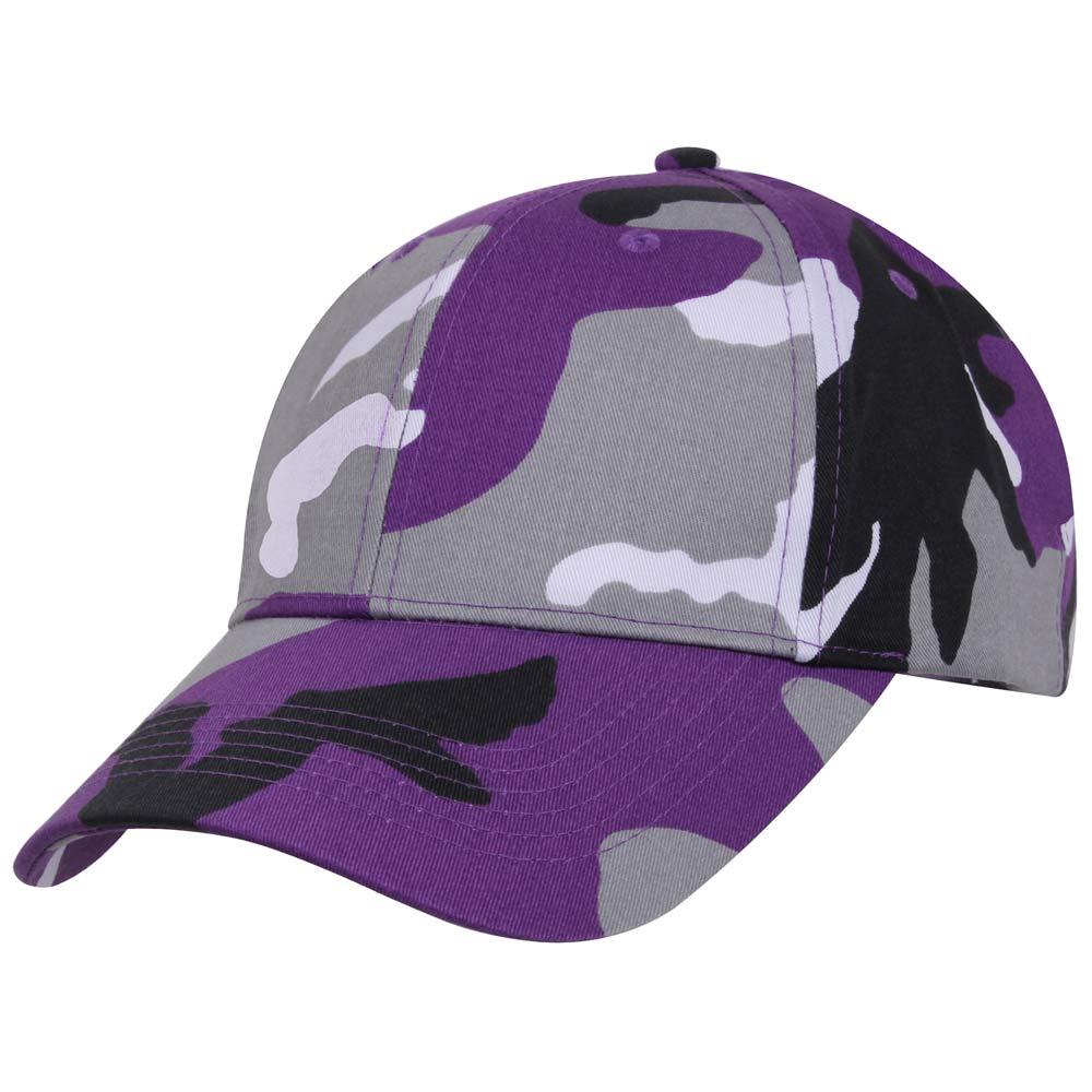 Purple Camouflage Baseball Cap