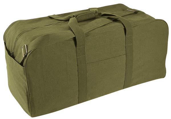 94b2de0a82e 34 Inch Canvas Cargo Duffle Bag - Black or Olive · Share