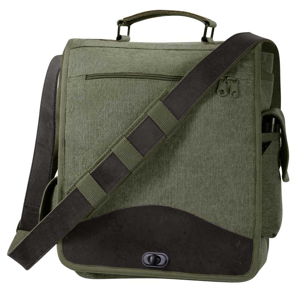 208fb7fbe4 Vintage Olive M-51 Engineer Messenger Bag