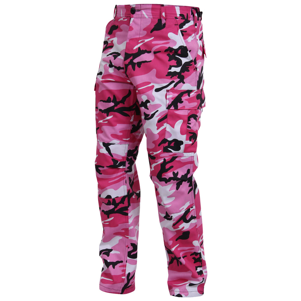 Pink Camo Military Bdu Pants Pink Camouflage Cargo Pants