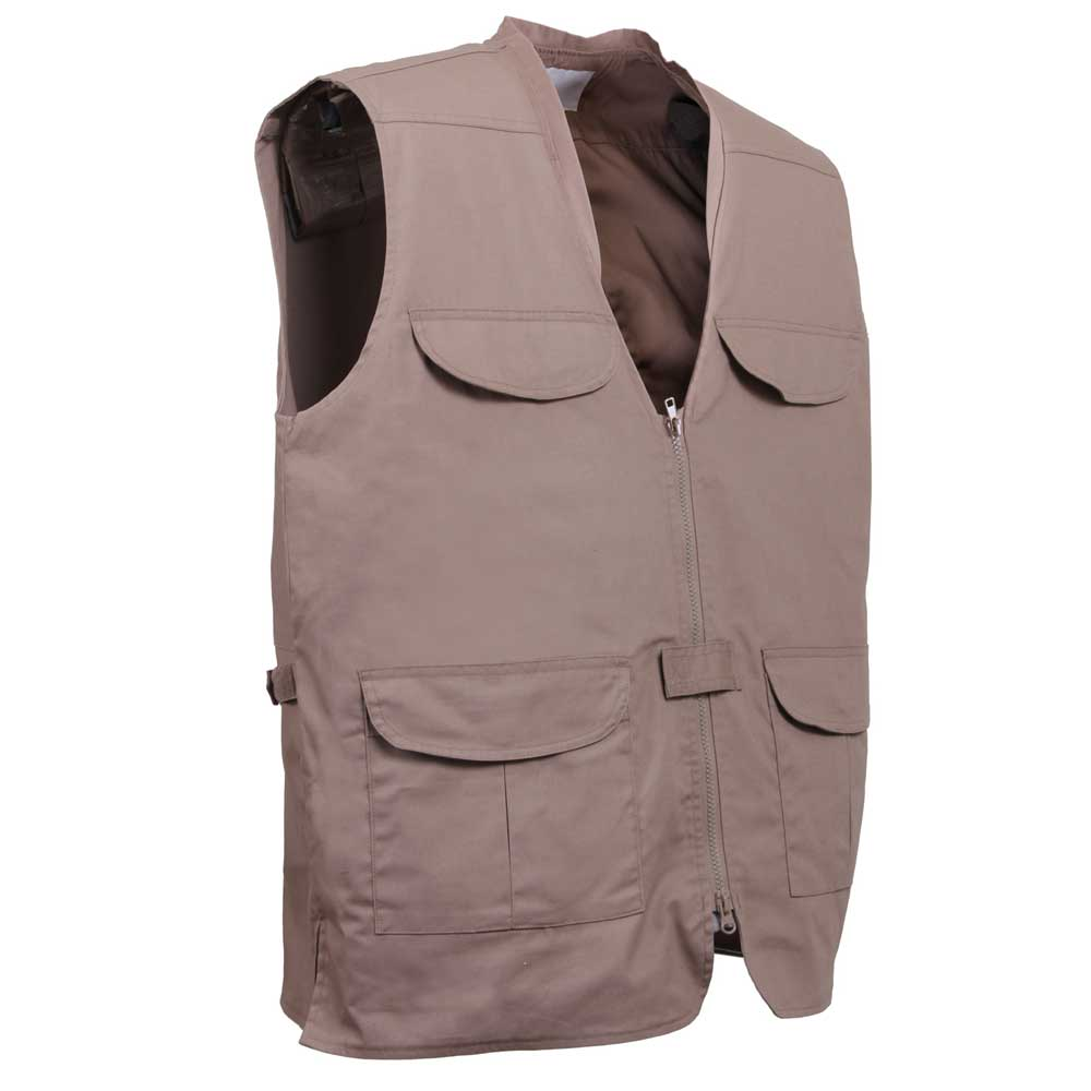 Khaki Lightweight Undercover Concealed Carry Vest