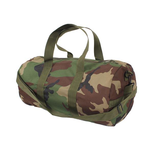 Small Woodland Camo Duffel Bag 19 Inch