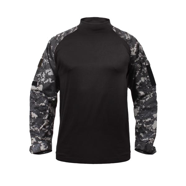 Digital City Camouflage Tactical Combat Shirt