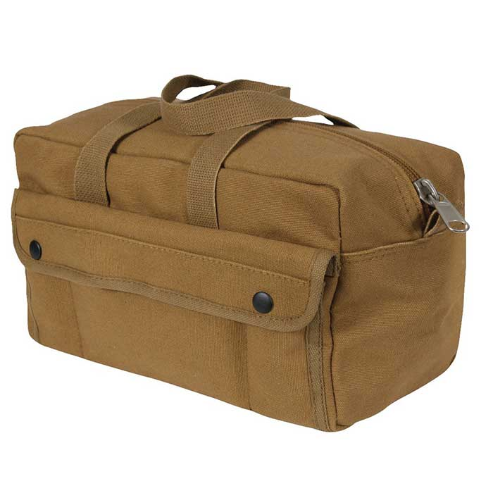 O D Green Military Type Heavy Wgt Cotton Canvas Mechanic Tool Bag