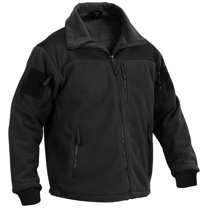 Spec Ops Black Tactical Cold Weather Fleece Jacket