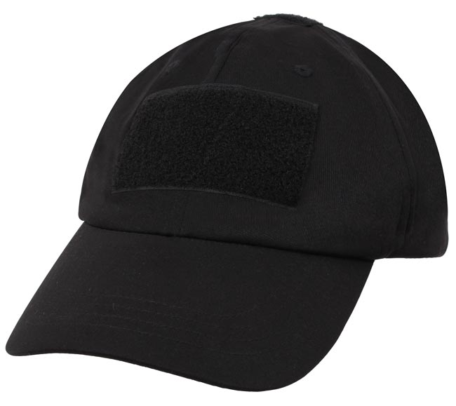 Softshell Black Operator Hat with Velcro Patch 56635aad4c4