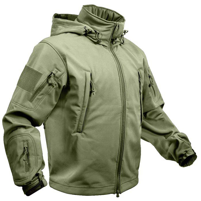 beautiful style new products for buying now Special Ops Waterproof Olive Drab Soft Shell Jacket