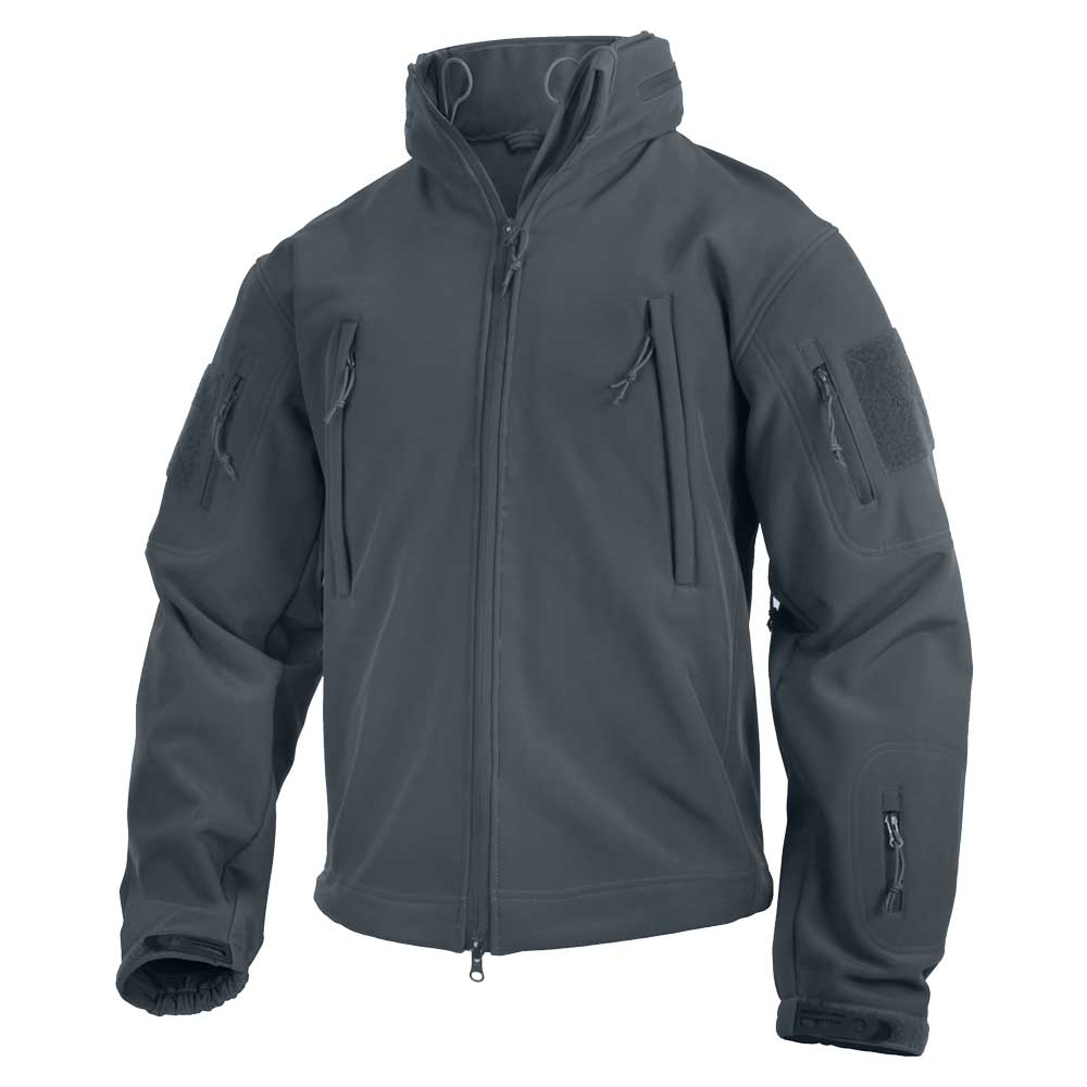 Spec Ops Tactical Grey Softshell Jacket