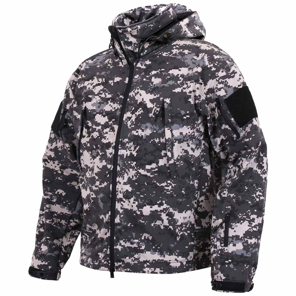 Spec Ops Subdued Urban Digital Soft Shell Jacket