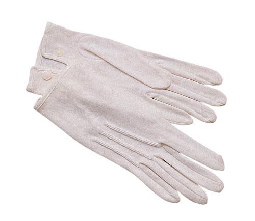 White Military Parade Gloves White Cotton Parade Gloves