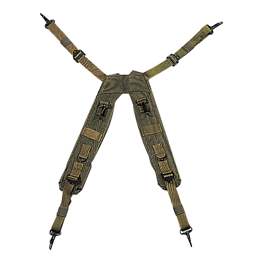 Military H Style Suspenders