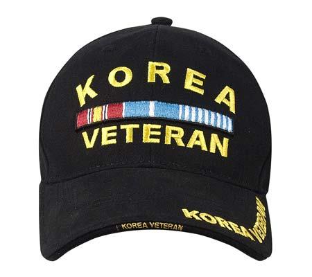 Korean War Veterans Baseball Hat Embroidered Military Hats