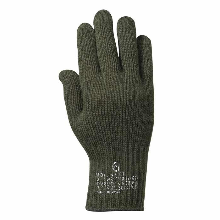 Military Wool Glove Liner - G.I. Glove Insert ef1332cdb1a