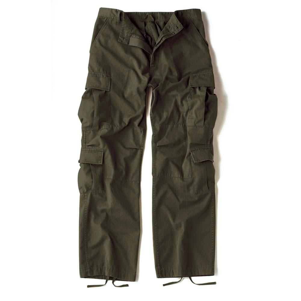 Vintage Olive Drab Military Cargo Pants - Vintage Army Pants a047ddcb809
