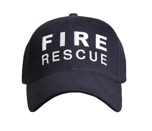 Fire Rescue Baseball Cap Firefighter Hat