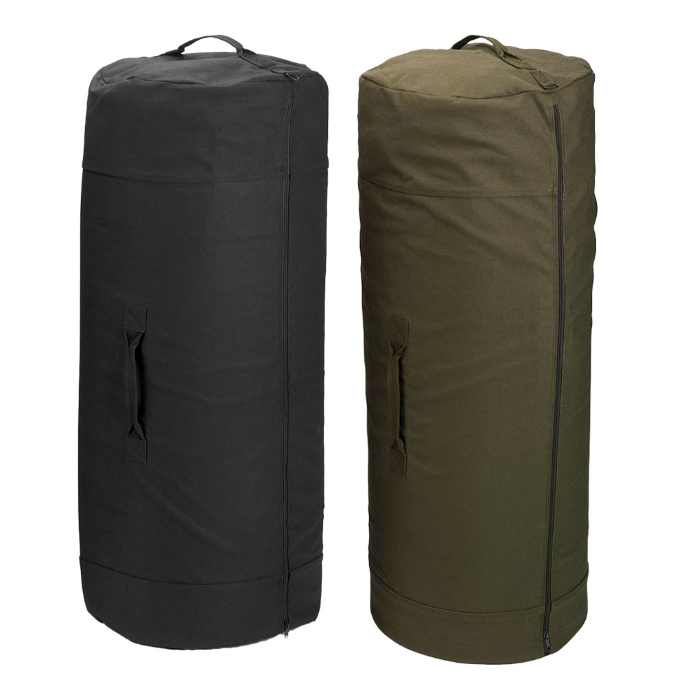 30 x 50 Full Zip Military Duffle Bag - Canvas Duffel Bag 6d6f0a547ec