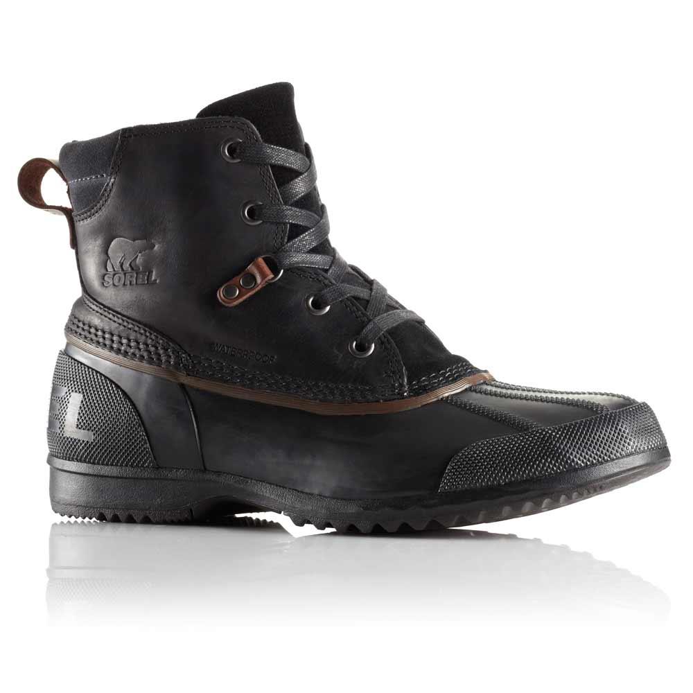 Sorel Ankeny Men S Black Waterproof Boot 1553381010
