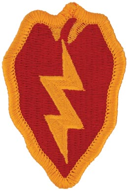25th Infantry Division Full Color Patch Military Patch