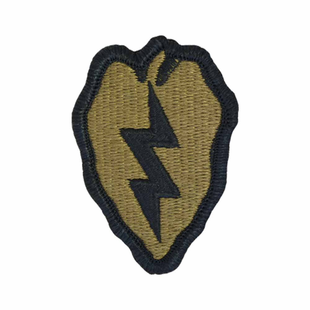 25th infantry division scorpion patch with fastener military patch insignia us army - Div checker tool ...